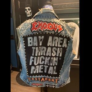Bay Area Thrash Metal Battle Vest!